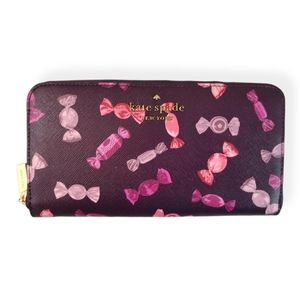 New Kate Spade Candy Shop Staci Continental Wallet